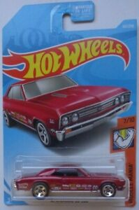 HOT WHEELS 2019 MUSCLE MANIA /'67 CHEVELLE SS 396