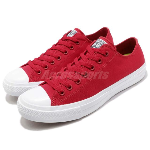 743ce38db9056e Converse Chuck Taylor All Star Signature Lunarlon II 2 Red Men Shoes 150151C