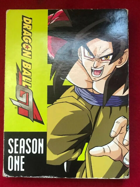Dragon Ball GT - Season 1(DVD, 2008, 5-Disc Set, ) 34 Episodes