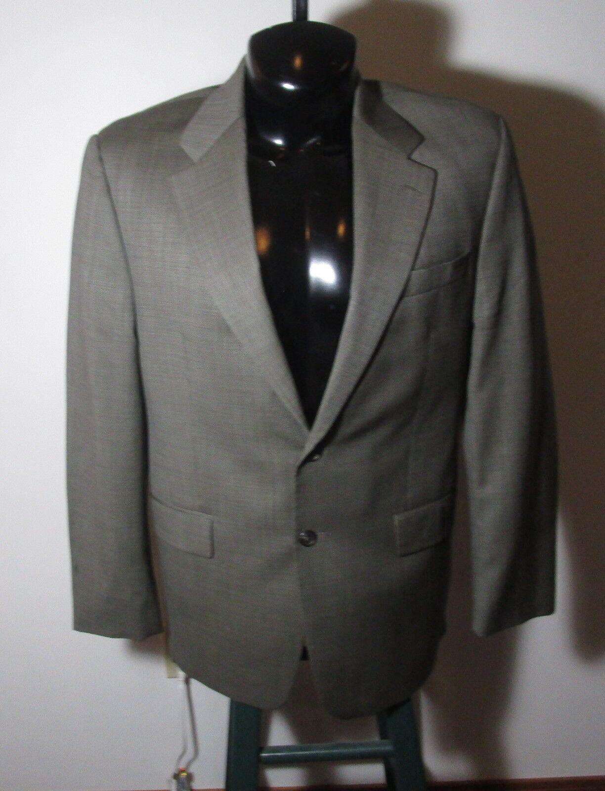 Men's LAUREN Ralph Lauren Taupe Cashmere Blend 2 Piece Suit Size 42LR, 35X32