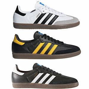 Adidas Original Samba Baskets pour Hommes Chaussures de Sport en Cuir