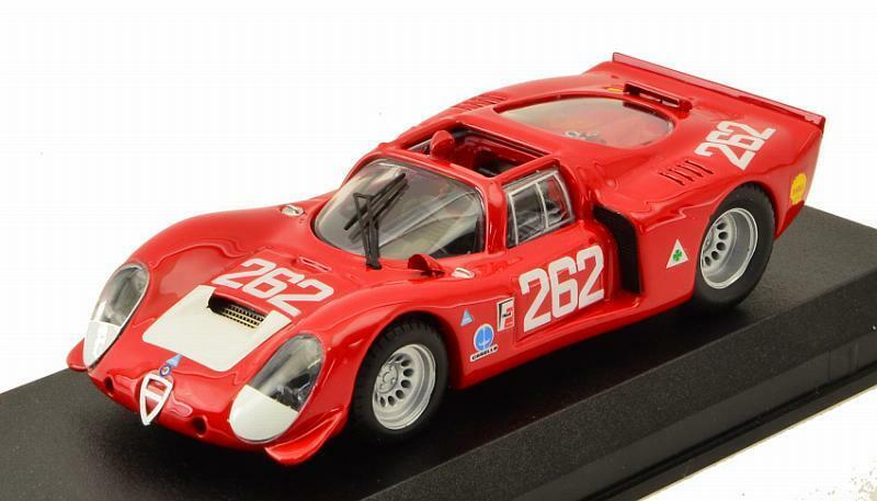 Alfa Romeo 33.2 Targa Florio 1969 Vaccarella - De Adamich 1 43 Best 9147-2