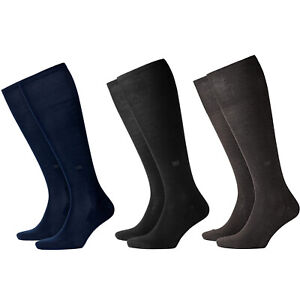 Socks-Man-Knee-Length-BURLINGTON-Mod-21715-DUBLIN-95-Cotton-40-46