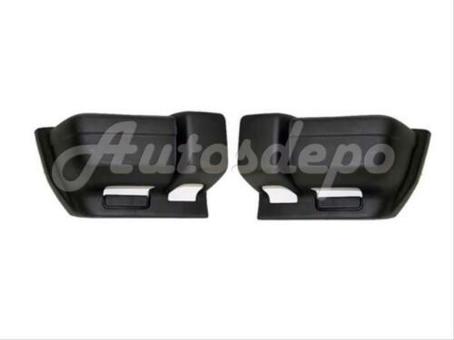 FOR 1997-2001 JEEP CHEROKEE FRONT BUMPER END TEXTURE BLACK SET=LH /&