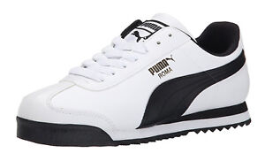 1b58d6e2 PUMA Roma Basic White, Black Mens Sneakers Tennis Shoes Item 353572 ...
