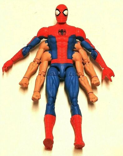Marvel Leggende Infinita sei BRACCIO SPIDER-MAN Loose COMPLETO NO Kingpin BAF Hasbro