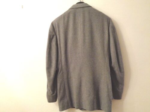 Cappotto lana da Enrico di 42 uomo L Bellini cashmere grigio b S sportivo SRxrS
