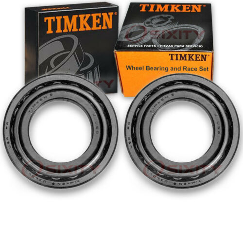 Timken Front Outer Wheel Bearing /& Race Set for 1967-1986 Chevrolet K20 au