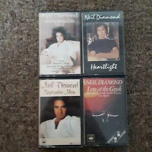 Neil-Diamond-Cassette-Job-Lot-Bundle-Tapes
