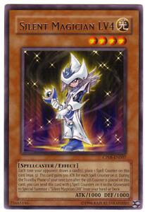YUGIOH-Mago-Silente-Silent-Magician-LV4-LV-4-RARA