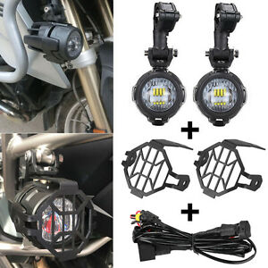 led auxiliary fog lights protector cover wiring harness for bmw rh ebay com