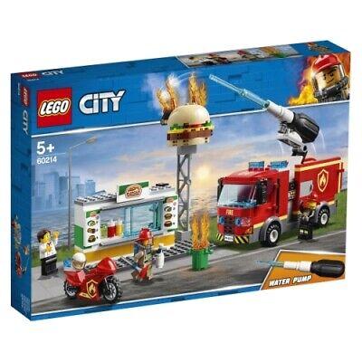 Ambitieus Lego City Feuerwehreinsatz Im Burger-restaurant 60214