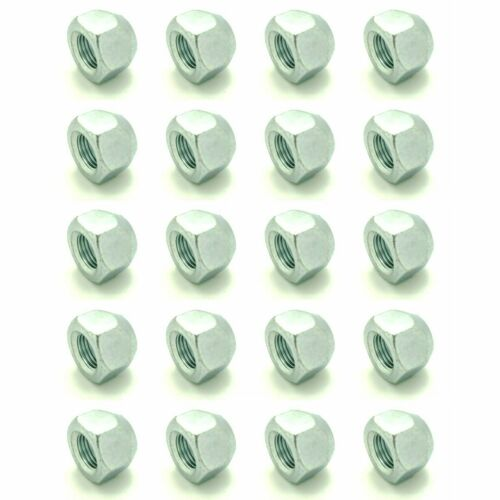 "20 1//2-20 Zinc Plated Open End Acorn Lug Nuts3//4/"" Hex Twenty BCP1074"