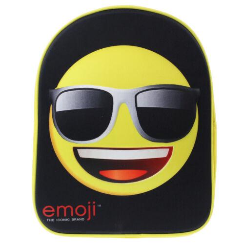 Childrens Boys Backpack Cool Emoji 3D Print School Bag Kids Back Pack Rucksack