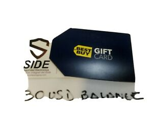 Best Buy Gift Card 30 Email Delivery I Ship On Time Ebay