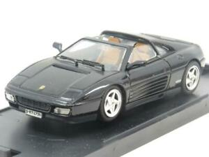 Bang-Models-Diecast-8003-FERRARI-348-ts-Stradale-Black-1-43-scala-in-Scatola