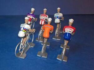 Lot-de-6-cyclistes-M-Van-der-Poel-Echelle-1-32-Cycling-figure