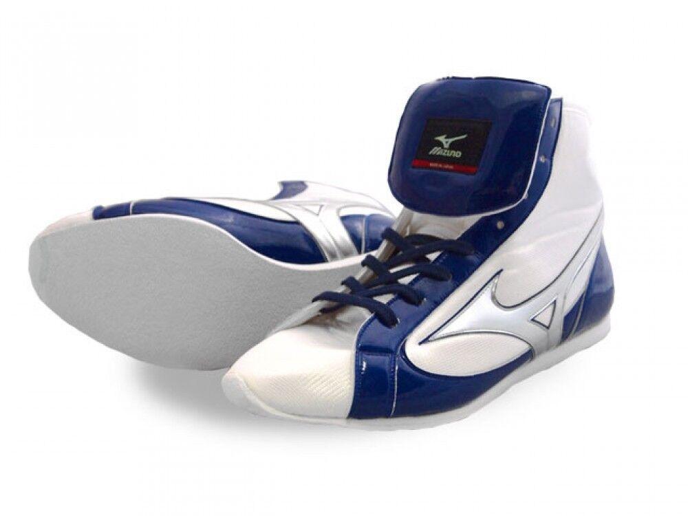 MIZUNO Japan Boxing shoes EF-S type 21GX151000 White X navy