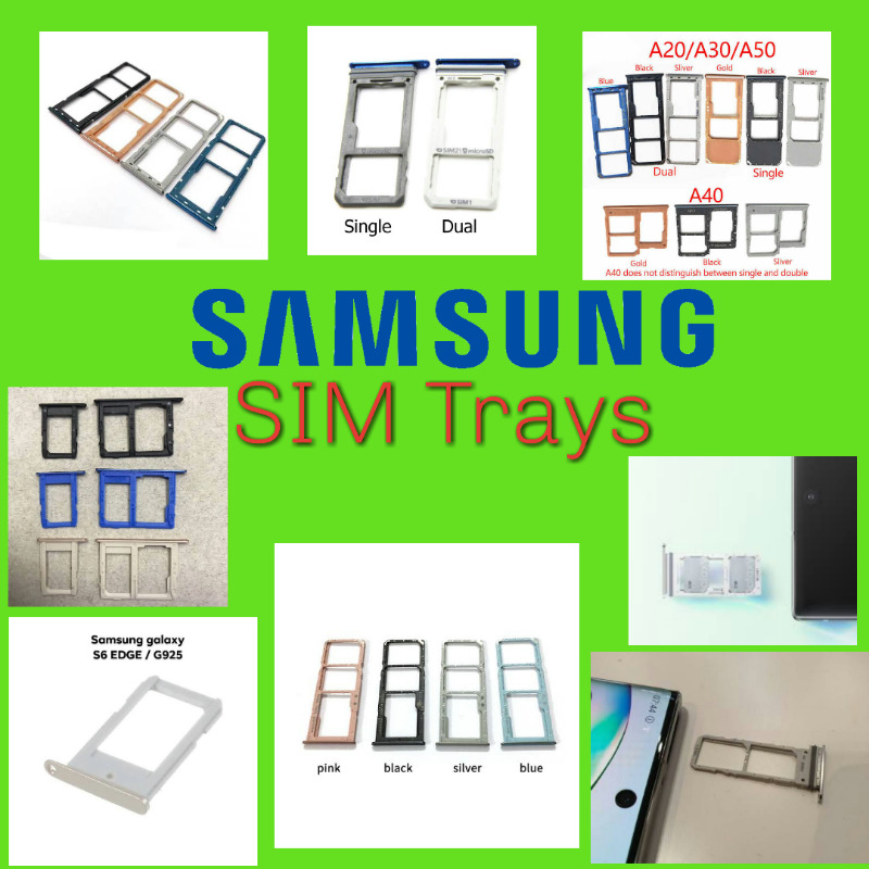 Samsung Sim Trays - Different Models Available (Brand New)
