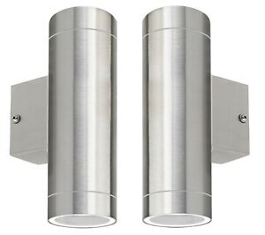 2-x-Stainless-Steel-Double-Outdoor-Wall-Light-IP65-Up-Down-Wall-Light-ZLC02