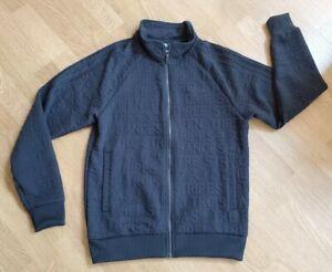 Adidas-Track-Jacket-Mens-Medium-Black-3-Stripe-Soccer-DH9082-Full-Zip-70