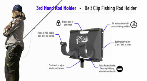 3 main supports à Cannes O /'pros made in USA 3rd Main Rod Holder top produit!!!