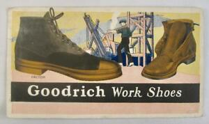 B-F-Goodrich-Company-Work-Shoes-Vintage-Paper-Advertisement-Construction-O