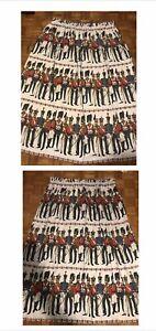 David-Whitehead-Heals-1950s-barkcloth-fabric-A-Pair-Of-Curtain-s-Midcentury