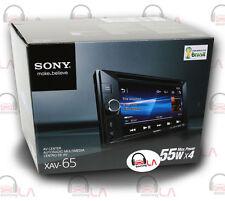 "SONY XAV-65 2-DIN 6.2"" TOUCHSCREEN DVD MULTIMEDIA RECEIVER"