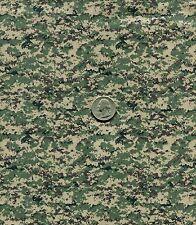 "1/6 Scale Russian SURPAT Digital Camouflage Model Miniature Fabric 21""x18"""