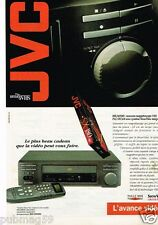 Publicité advertising 1993 Magnétoscope Hi-Fi Video JVC
