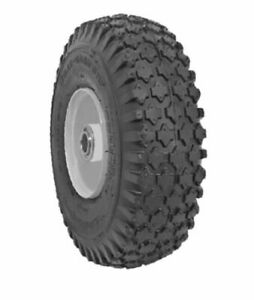 2x Pair Deli Tire 4.10//3.50-4 NHS 4 Ply Sawtooth Tread Tubeless Tire 50 PSI NOS