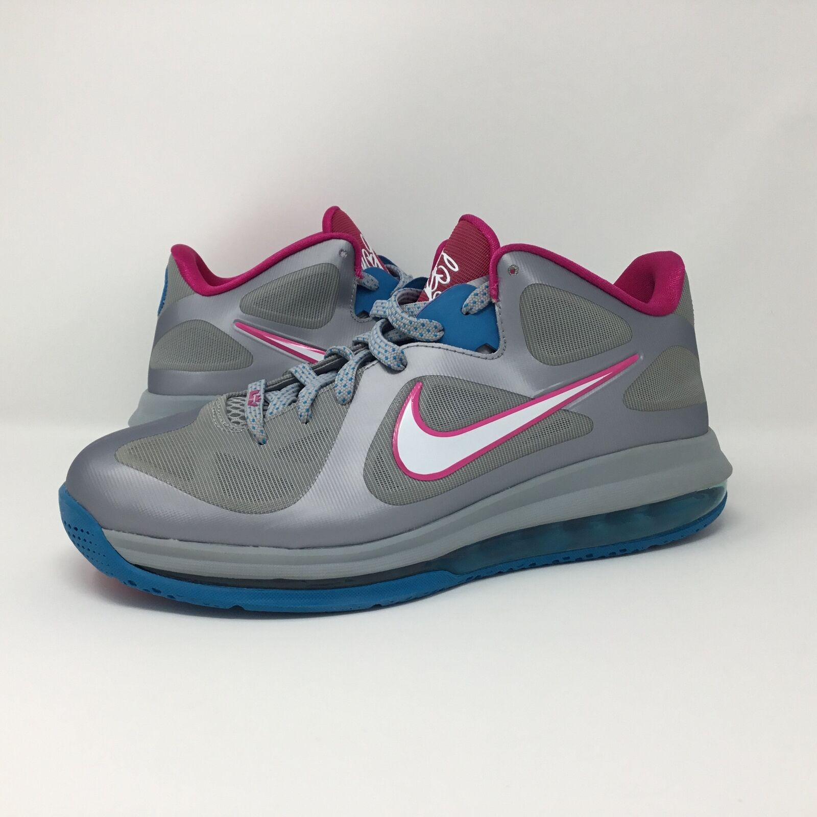 super popular 8fe02 25457 Nike Lebron 9 IX Low Fireberry sz 8.5 8.5 8.5 DS d3a8c7