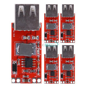 5PCS-USB-Step-Down-Buck-Power-Supply-DC-12V-24V-to-5V-3A-For-Car-Charger-Module