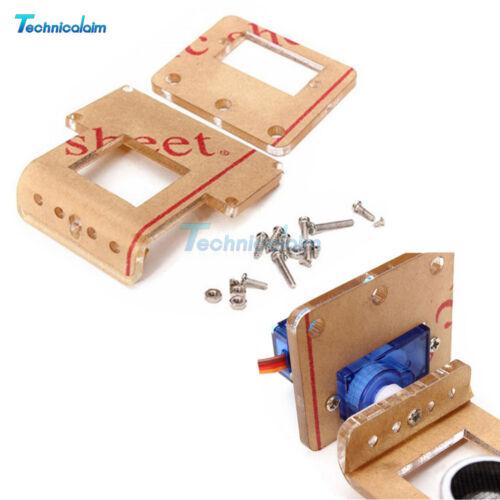 Analog Servo and HC-SR04 Ultrasonic Ranging Module Robot Mounting Bracket Kits