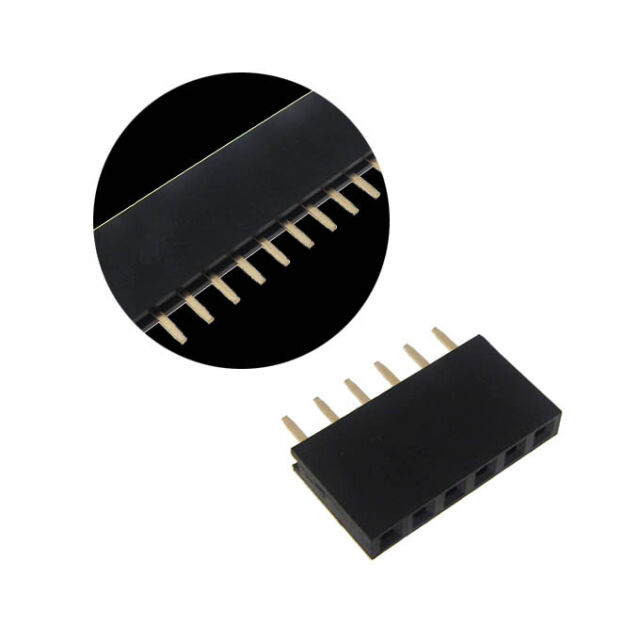 """pitch 2x20 pin 40 Pos Female Header 0.1/"""" Lot of 10 2.54mm"""
