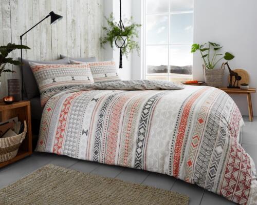 Duvet Cover Flannelette set Pillow Case Quilt Cover Bedding Set Double King All