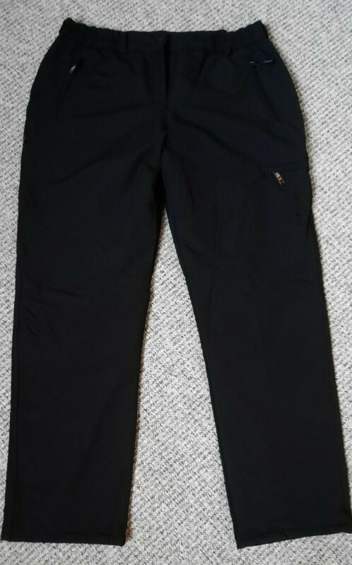 Hs Womens Warm Winter Pants Sport Trousers Lined New, Never Worn Size 48/20 Black-show Original Title To Suit The People'S Convenience