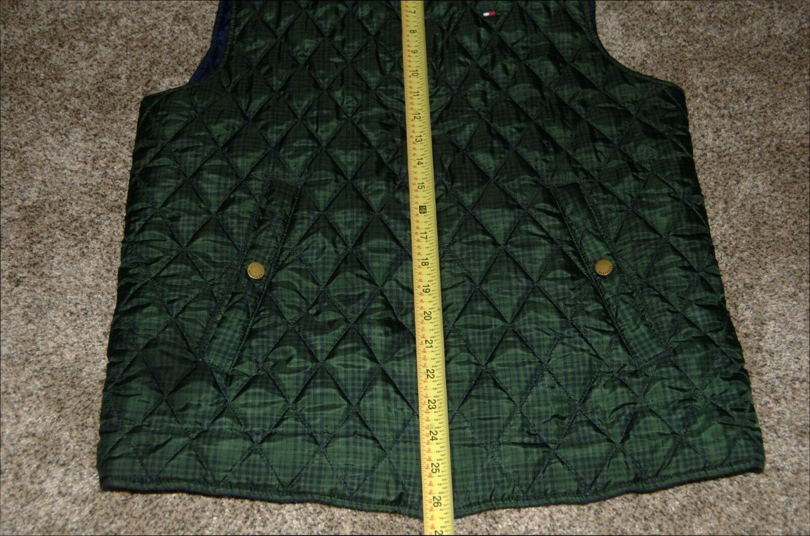 Vintage Tommy Hilfiger Quilted Reversible Women's… - image 2