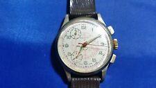 Vintage Berco Chronograph Telemeter Men's Watch Swiss Made