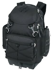 f508fc3a68e7 Details about Black Urban Warrior Backpack By Military Luggage Company