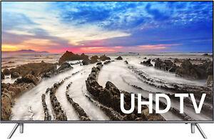 "Samsung UN65MU8000 65"" Smart LED 4K Ultra HD TV with HD"