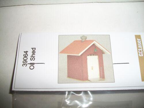GC Laser Building Kit O Scale Kit Oil Shed  #39064  Bob The Train Guy