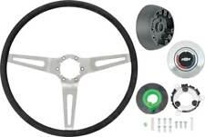 1969 72 Corvette Comfort Grip Steering Wheel Kit Withtilt Wheel Silver Spokes