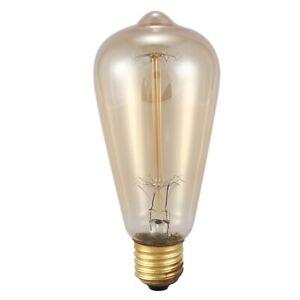 E27-60W-ST64-Lampe-Edison-blanc-chaud-ampoule-Edison-de-style-vintage-retro-M5G1
