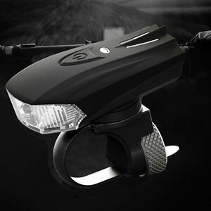 Bicycle-Smart-Shock-Sensor-LED-Light-Front-Lamp-USB-Rechargeable-Bike-Cycling