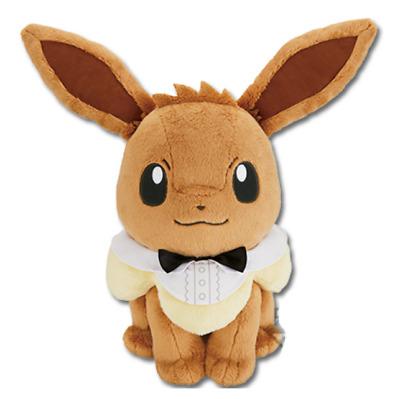 Banpresto kuji Pokemon EiEVUI /& MELODIES A Prize Eevee stuffed Soft plush 30cm