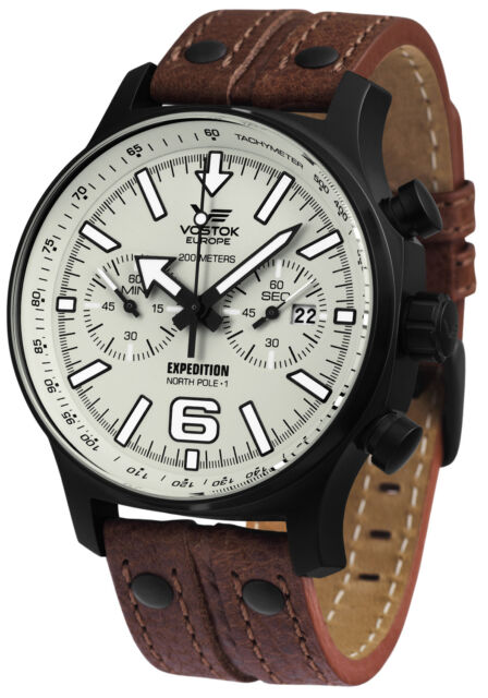 VOSTOK EUROPE Expedition Chrono Line Herrenuhr 5954200