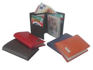 Portefeuille-Haute-Qualite-Porte-cartes-en-Cuir-Premium