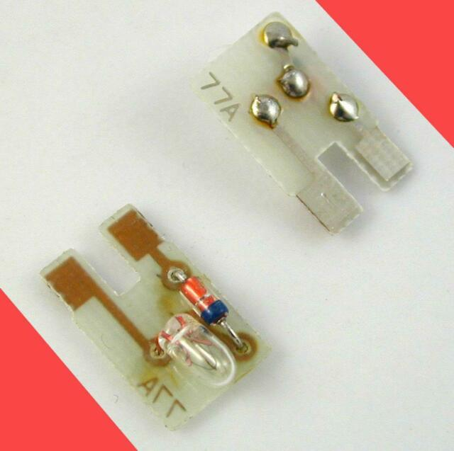 LIGHTING CIRCUIT MANY (BULB TYPE) KATO MADE (2) PCB ATLAS  77A  420009 N SCALE